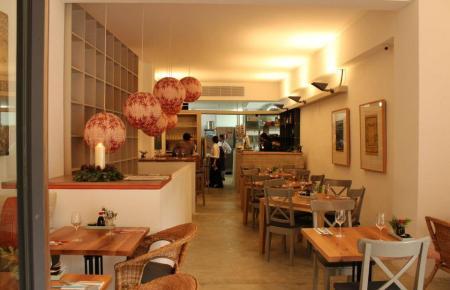 Das Restaurant befindet sich an der Plaça del Mercat in Palma.