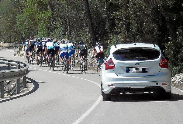 Dass sich Autofahrer über Radler ärgern - und umgekehrt - kommt auf Mallorca schon mal vor.
