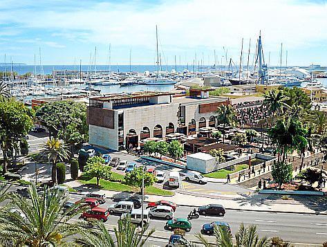 """Die Markthalle ist im Bereich """"Contramuelle Mollet"""" gegenüber vom Museum Es Baluard geplant."""