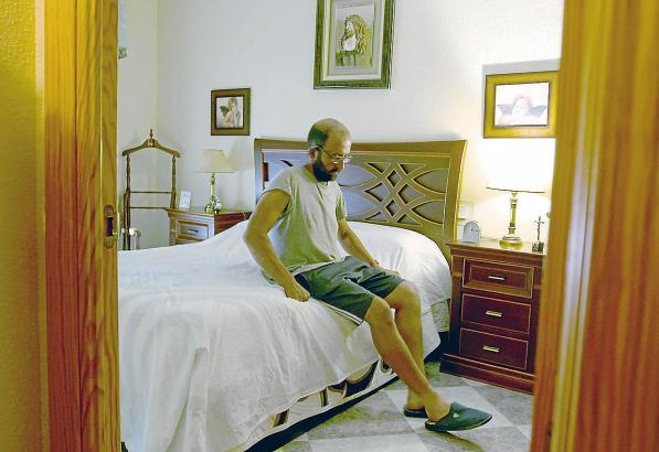 Landwirt Roberto Ortego braucht täglich anderthalb Stunden Siesta.