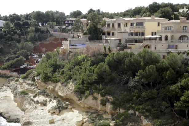 Wenn es nach dem Staatsanwalt geht, soll die Villa von Mafiaboss Petrov bei Calvià in den Verkauf kommen.