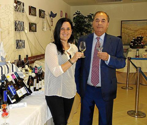 Rocío Acha und Antonio Seijas.