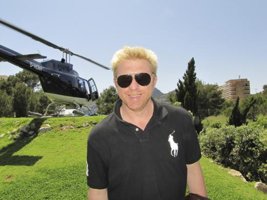 Ex-Tennisprofi Boris Becker war in der Vergangenheit öfter auf Mallorca zu Besuch