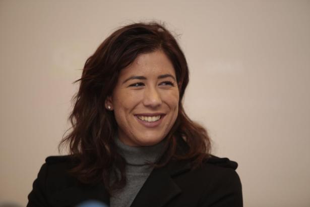 """Garbiñe Muguruza Ende vergangenen Jahres in Santa Ponça. Sie reiste zur Präsentation des """"Mallorca Open"""" nach Mallorca."""