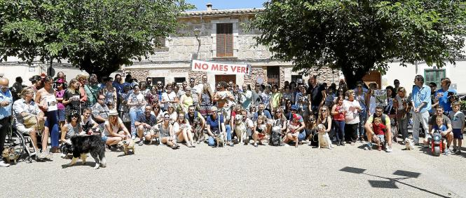 Hundert Hundehalter schlossen sich der Demonstration an