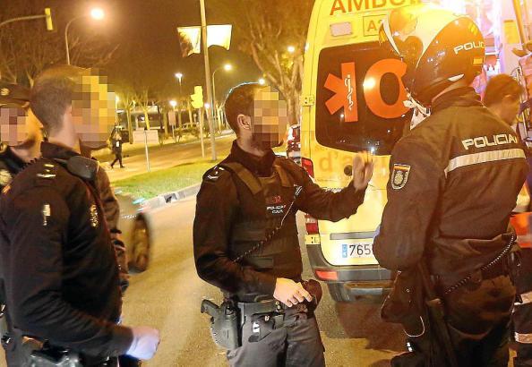 Die Nationalpolizei auf Mallorca sucht nach dem mutmaßlichen Täter.