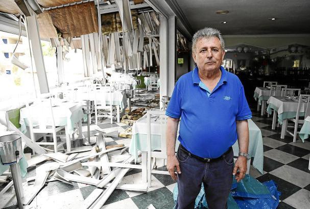 Der Besitzer des Restaurants Illetas Playa muss vorerst seine sieben Mitarbeiter entlassen.