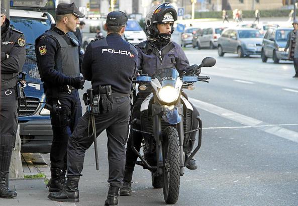 Die Nationalpolizei befreite eine Prostituierte