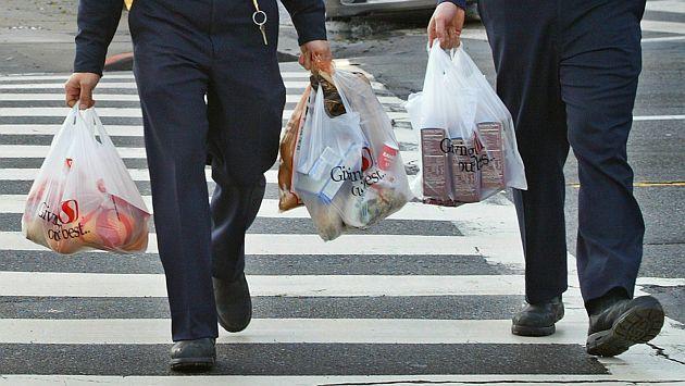 Plastiktüten sind auf Mallorca weit verbreitet.