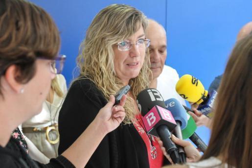 Gesundheitsministerin Patricia Gómez.