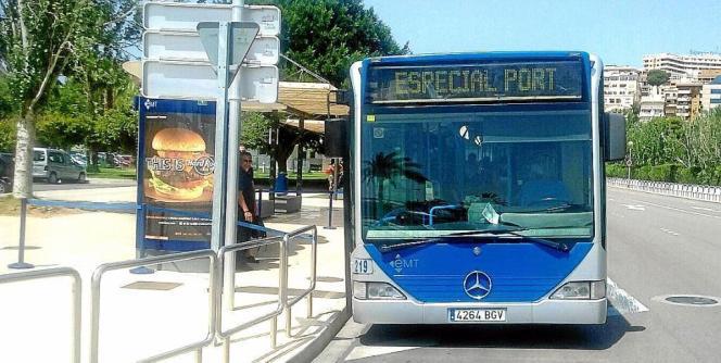 Der Sonderbus soll die Besuchermassen in der City von Palma de Mallorca entzerren.
