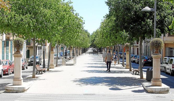 Der Paseo de na Camel·la in Manacor im Osten von Mallorca wurde 1920 eingeweiht.