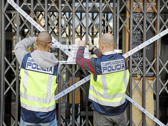 Die Lokale der Gastro-Mafia auf Mallorca wurden versiegelt.