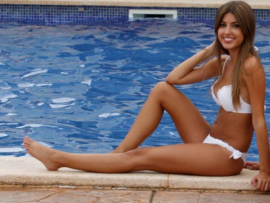 Cati Cabot wurde von der Jury in Port d'Andratx zur Miss Bikini ernannt.
