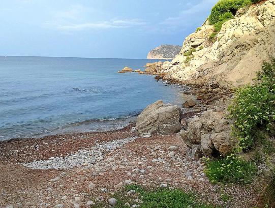 In der Cala des Gats in Costa de la Calma sind Hundehalter willkommen