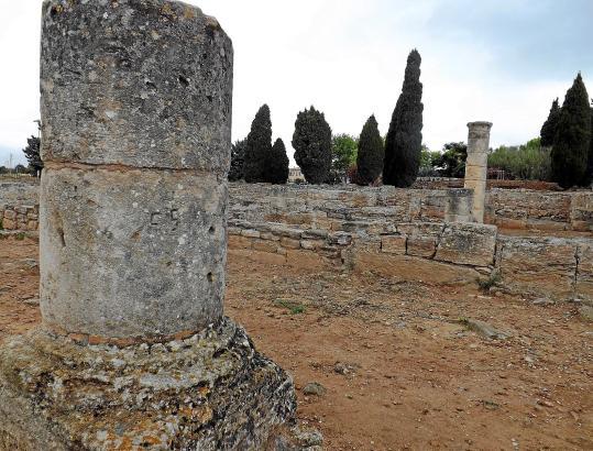 Wo heute nur noch Säulenschafte und Mauerreste zu sehen sind, befanden sich vor 2000 Jahren Wohnhäuser der römischen Siedlung Po