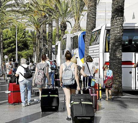Das Geschäft mit dem Tourismus brummt.