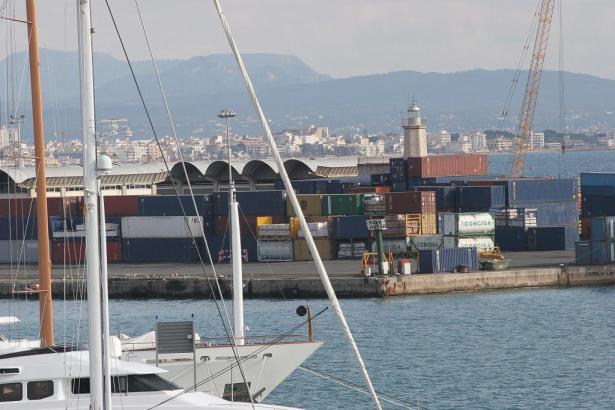 Der Unfall passierte im Hafen von Palma de Mallorca.
