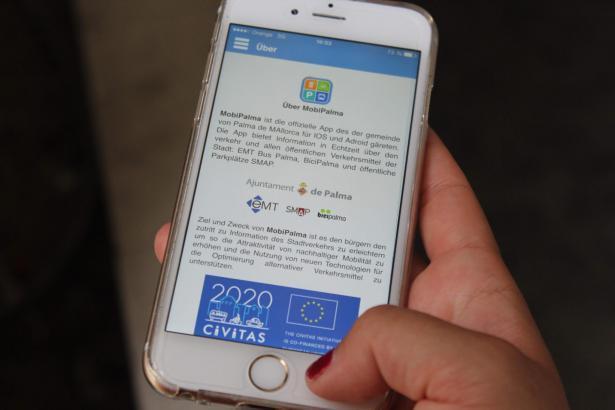 Die Nutzung von mobilem Internet und Apps wie MobiPalma ist auf den Balearen sehr verbreitet