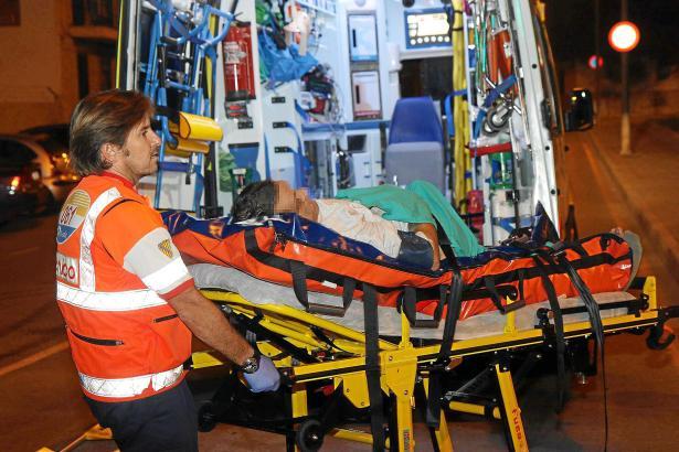 Ambulanzwagen im Einsatz: Täglich rücken die Rettungsdienste auf Mallorca aus.