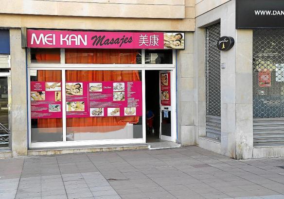 "Das Massagezentrum ""Mei Kan"" in Palma de Mallorca."