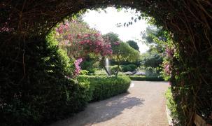 Die Gärten beherbergen eine große Auswahl an mediterraner Vegetation.