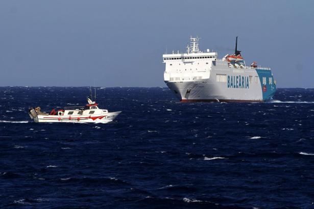 Die Fähren des Unternehmens Balearia fahren von Mallorca aus zu den Nachbarinseln und zum spanischen Festland.