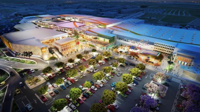"""So soll es einmal aussehen, das neue Einkaufszentrum """"Fan Mallorca Shopping"""" in Coll d'en Rabassa."""