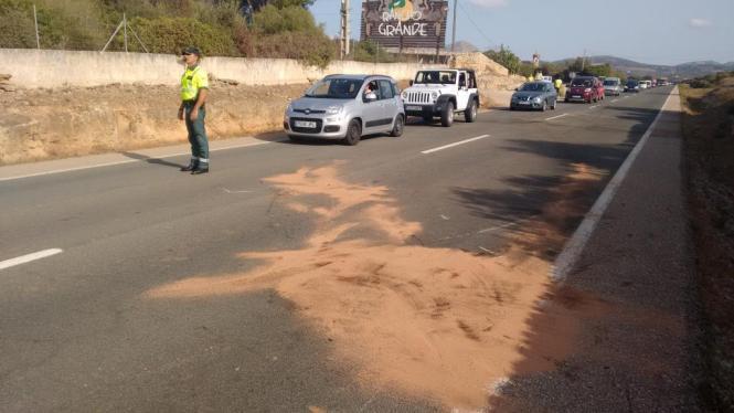 Der Horror-Crash ereignete sich in der Nähe des Reiterhofs Rancho Grande bei Son Serra de Marina.