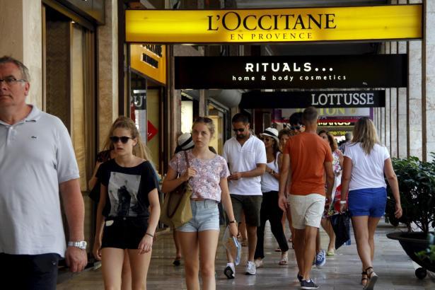 Die Avinguda Jaume III ist eine der beliebtesten Einkaufsstraßen in Palma de Mallorca.