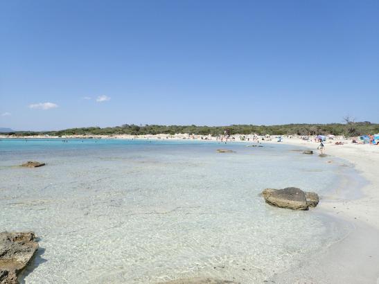 Der Strand von Es Trenc.