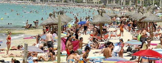 Die touristische Saison auf Mallorca wird sich in diesem Jahr über neun Monate erstrecken.