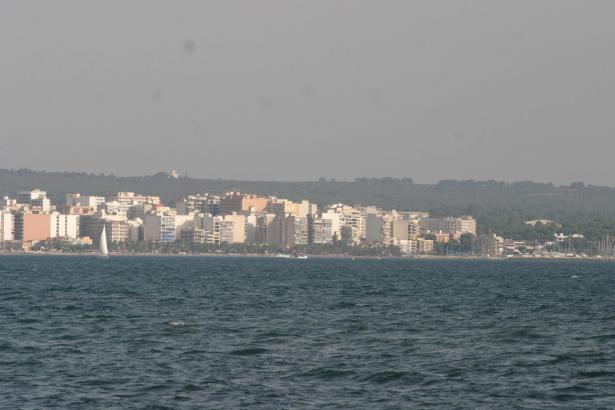 Die Vorfälle ereigneten sich in S'Arenal, dem Küstenort an der Playa de Palma.