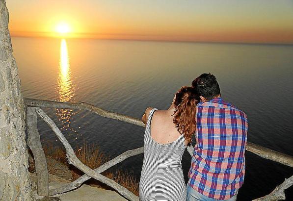 Romantik pur: Toller Ausblick vom Wachturm Torre de Ses Ànimes.