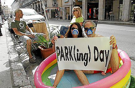 Schon am Freitag, 16. September, kann man Parkplätze kreativ nutzen.
