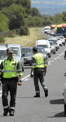 Die Landstraße zwischen Llucmajor und Campos gilt als die gefährlichste von Mallorca.