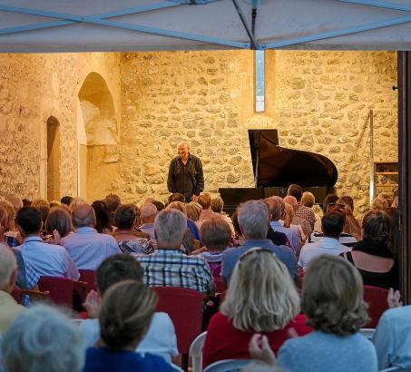 Alexander Malter im Oratorio de Santa Catalina: Am Samstag, 1. Oktober, eröffnet der Pianist das Festival von Port de Sóller.