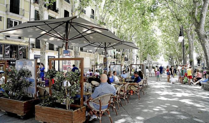 Gerade im Zentrum von Palma de Mallorca wollen viele EU-Ausländer einen zweiten Wohnsitz aufbauen.