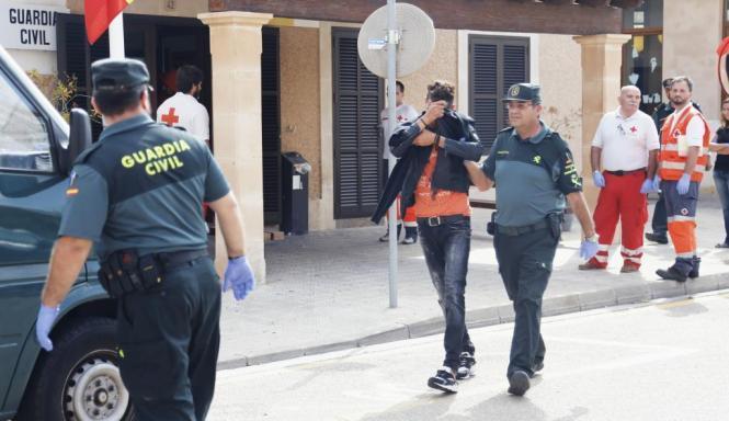 Einer der auf Mallorca festgenommenen Flüchtlinge.