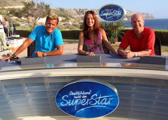 """Vor zehn Jahren kam Dieter Bohlen (links) anlässlich eines Castings für """"Deutschland sucht den Superstar"""" auf die Insel"""