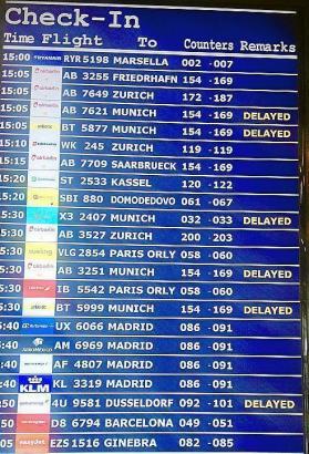 In dieser Woche kam es zu zahlreichen Verspätungen und Ausfällen am Flughafen von Palma