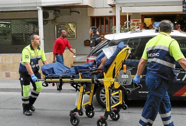 Das Opfer wurde ins Krankenhaus Son Llàtzer gebracht