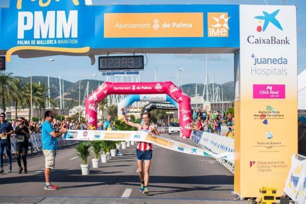 Er war der Schnellste: Richard Waldron hat den Marathon in Palma de Mallorca gewonnen.