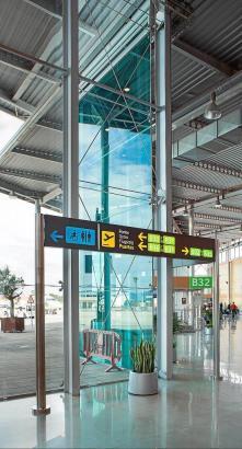 Der Flughafen von Palma de Mallorca fährt derzeit große Gewinne ein.