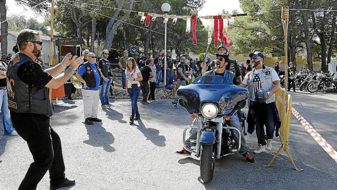Drei Tage bestimmten die Kult-Mottorräder das Bild des sonst so stillen Dörfchens im Süden von Mallorca.