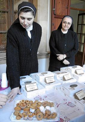 Das Kapuzinerinnen-Kloster in Palma de Mallorca.