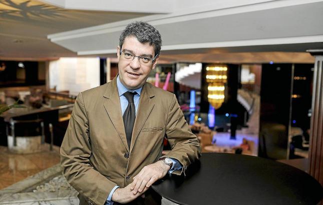 War schon auf Mallorca: Der neue spanische Tourismusminister Álvaro Nadal bei einem früheren Besuch in Palma.