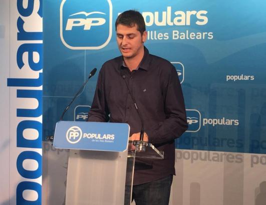 Sebastià Sagreras ist Generalsekretär der PP auf den Balearen und Bürgermeister von Campos