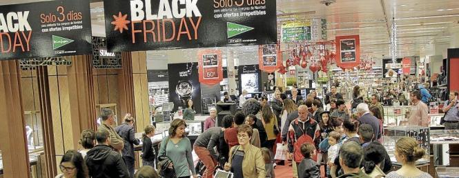 """Der """"Black Friday"""" dürfte wohl den Startschuss für das Vorweihnachtsgeschäft auf Mallorca darstellen."""