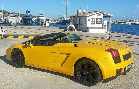 Der Lamborghini Gallado wird auf Mallorca vermisst. Wer hilft ihn zu finden, dem verspricht der Besitzer 10.000 Euro Belohnung.